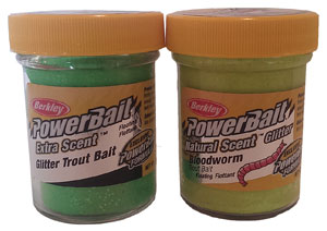 PowerBait glas
